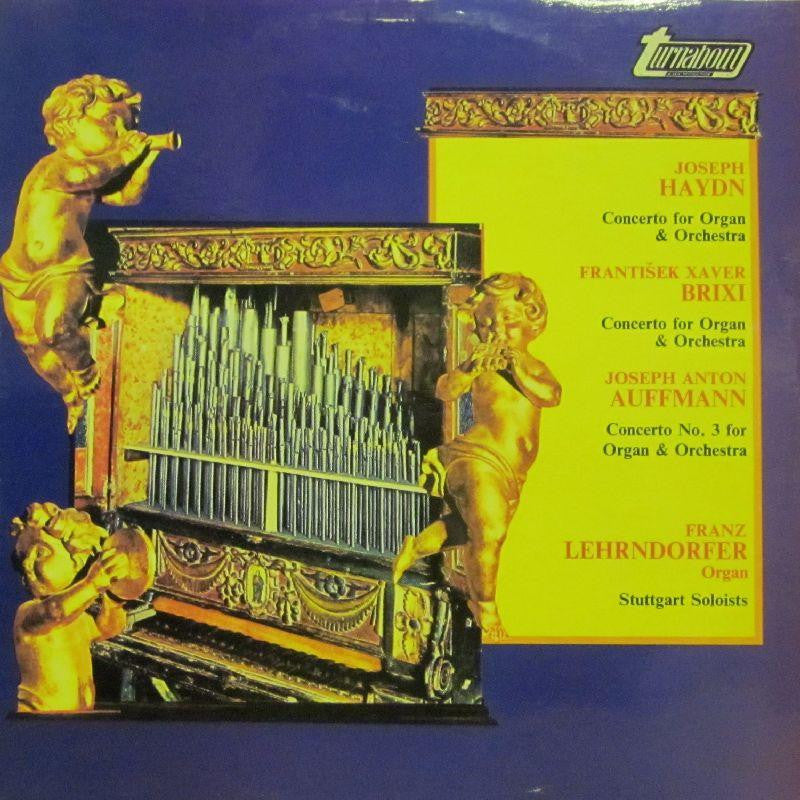 Haydn-Concerto For Organ & Orchestra-Turnabout-Vinyl LP