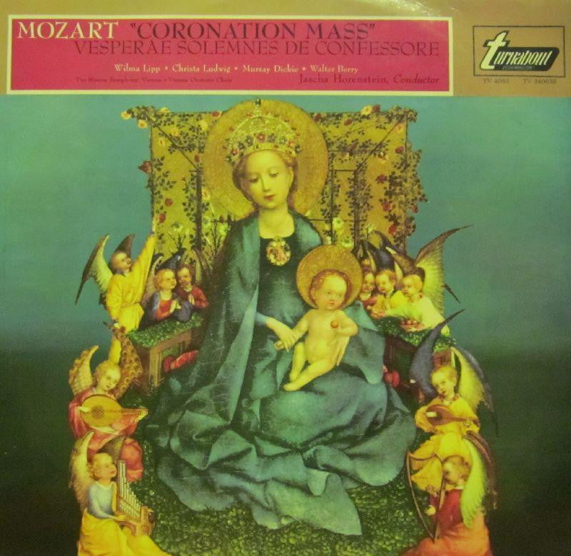 Mozart-Coronation Mass-Turnabout-Vinyl LP
