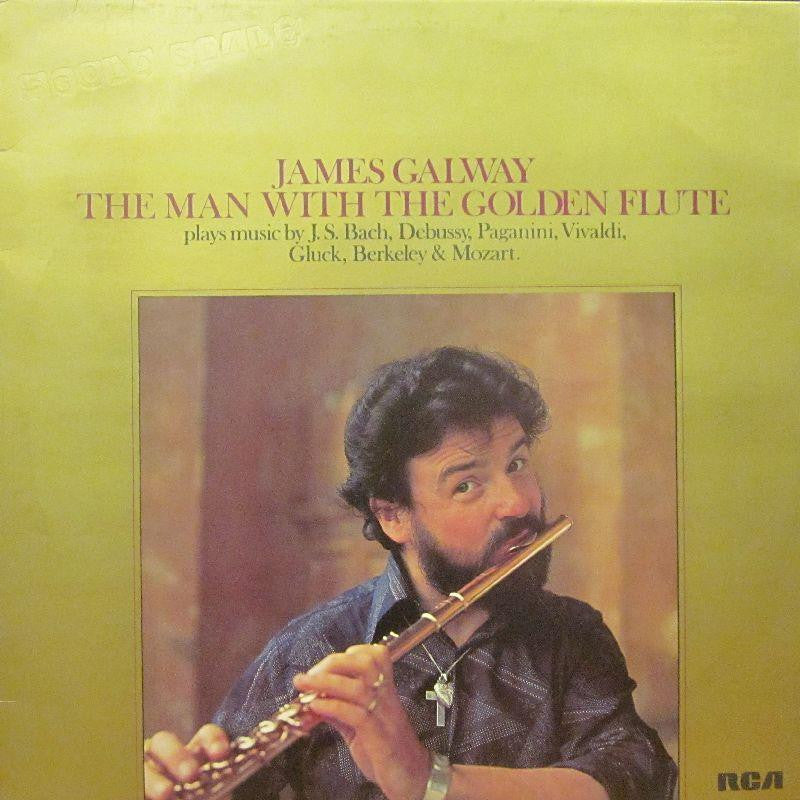 James Galway-The Man With The Golden Flute-RCA-Vinyl LP