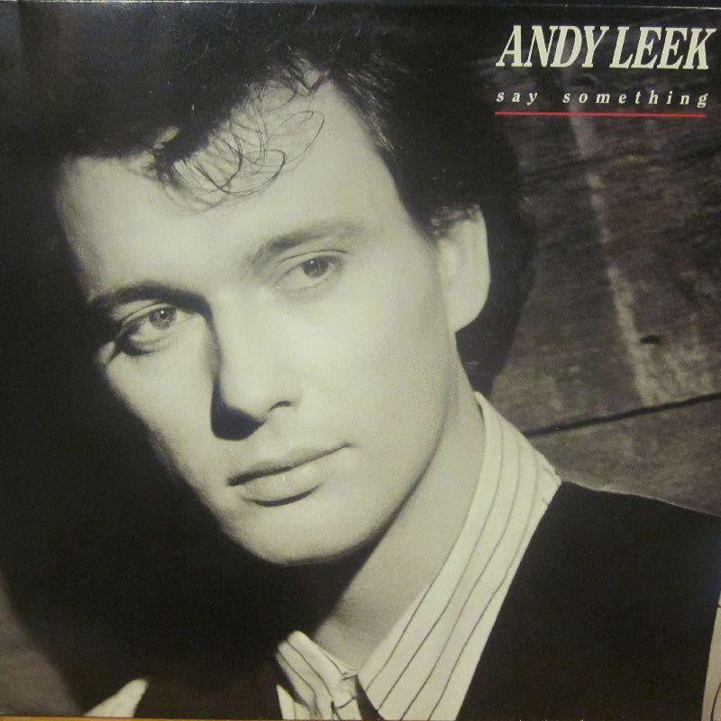 Andy Leek-Say Something-Atlantic-Vinyl LP