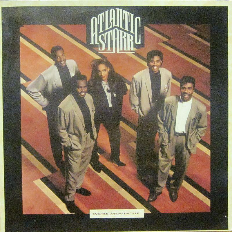 Atlantic Starr-We're Movin' Up-Warner-Vinyl LP