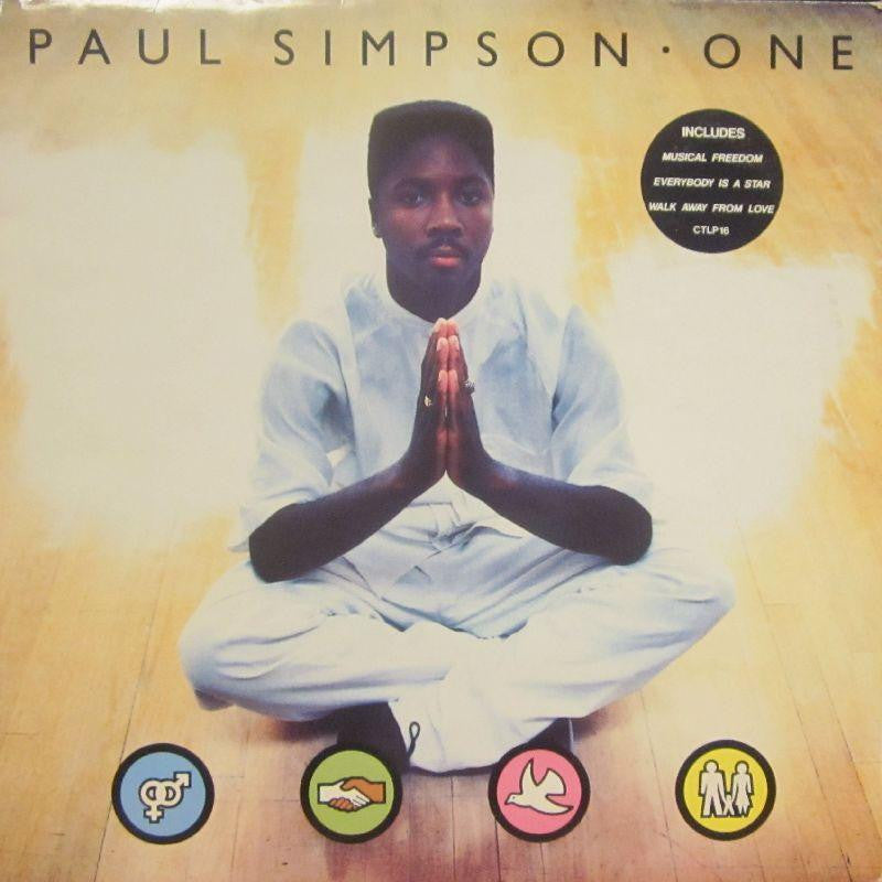 Paul Simpson-One-Cool Tempo-Vinyl LP