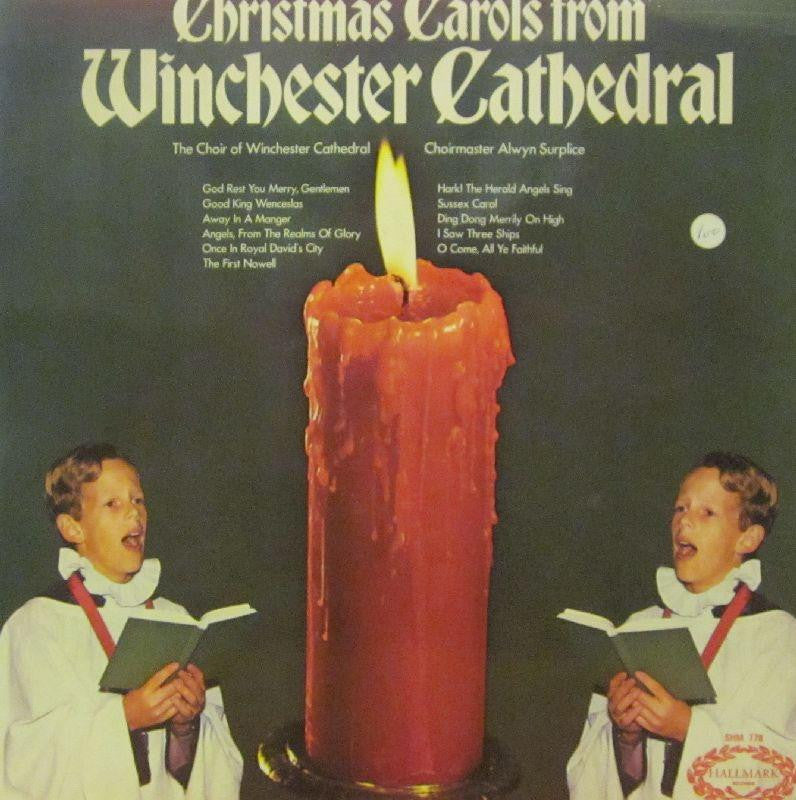 Wincester Catherdal-Christmas Carols From-Hallmark-Vinyl LP