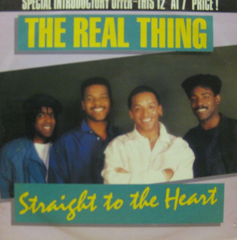 "The Real Thing-Straight To The Heart-JIVE-12"" Vinyl"