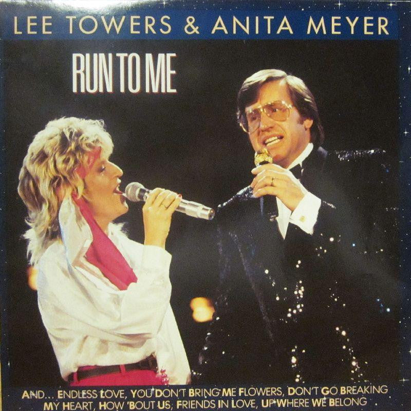 Lee Towers & Anita Meyer-Run To Me-Ariola-Vinyl LP