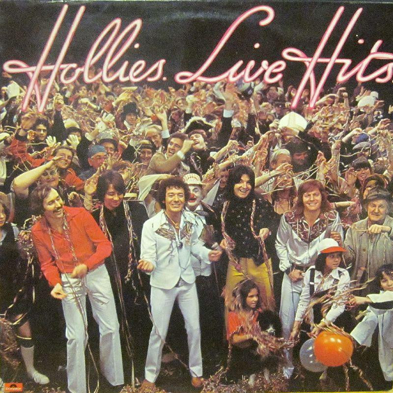 Hollies-Live Hits-Polydor-Vinyl LP