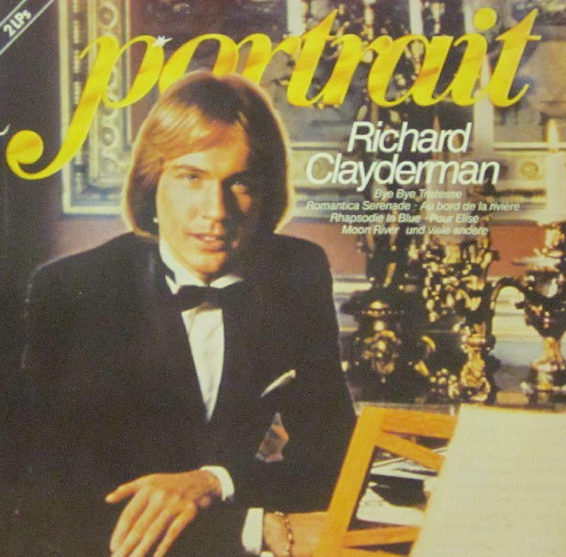 "Richard Clayderman-Portrait-Telefunken-2x12"" Vinyl LP Gatefold"
