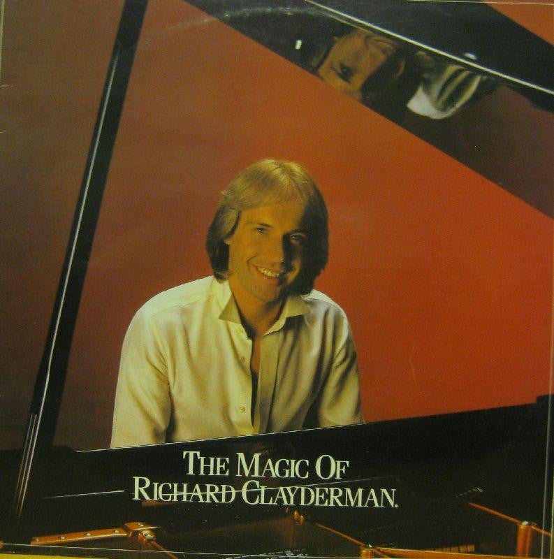 "Richard Clayderman-The Magic Of-Telly Disc-2x12"" Vinyl LP Gatefold"