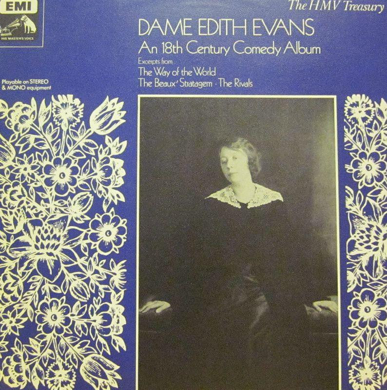 Dame Edith Evans-An 18th Century Comedy Album-HMV-Vinyl LP