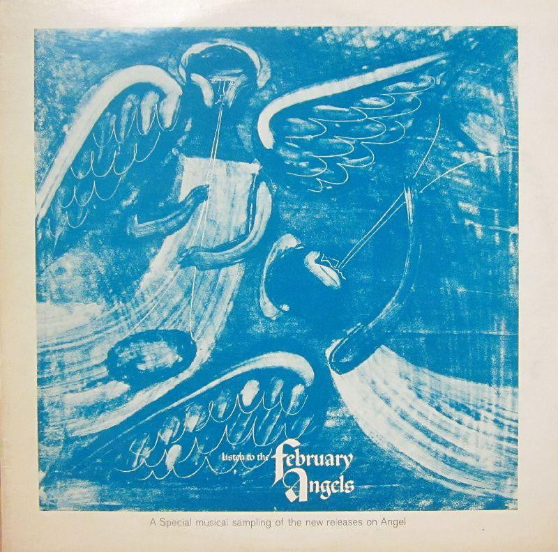 The February Angels-Listen To-Angel-Vinyl LP