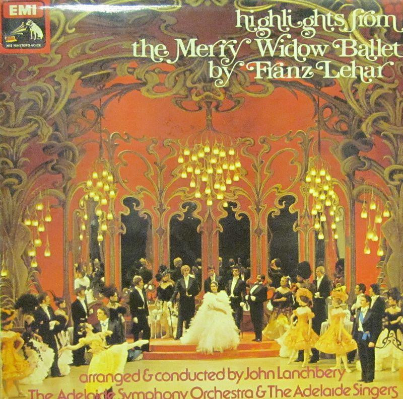 Lehar-The Merry Widow-HMV-Vinyl LP