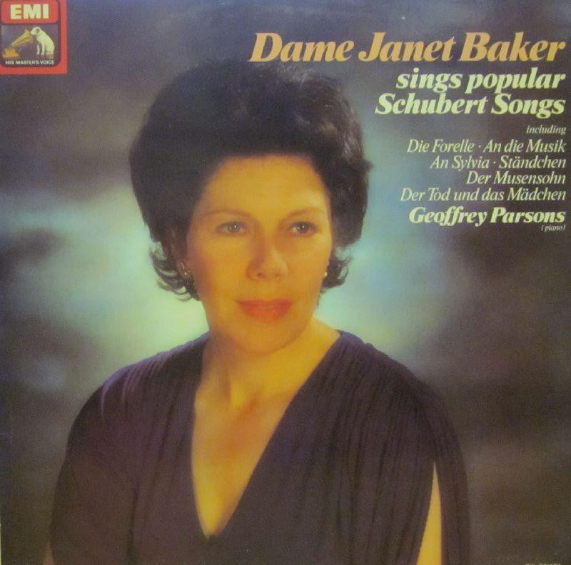 Janet Baker-Sings Popular Schubert Songs-HMV-Vinyl LP