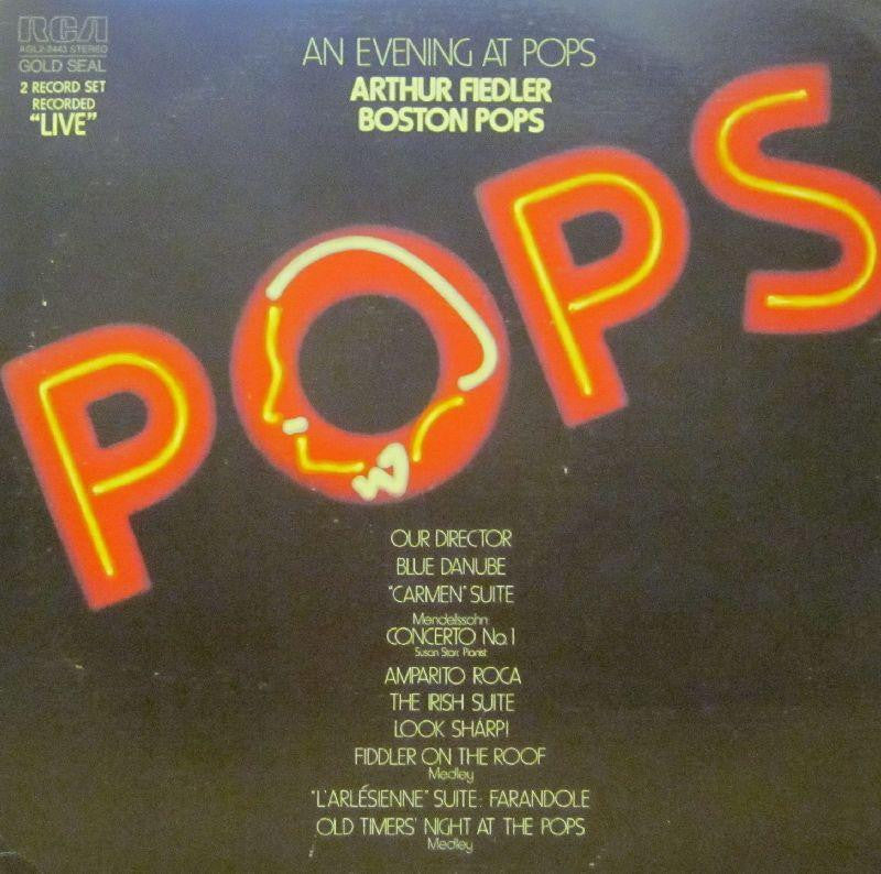 "Arthur Fiedler-An Evening At Pops-RCA-2x12"" Vinyl LP Gatefold"