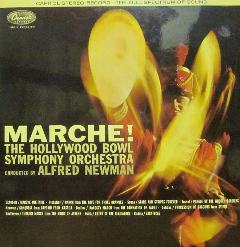 The Hollywood Symphony Orchestra-Marche-Capitol-Vinyl LP