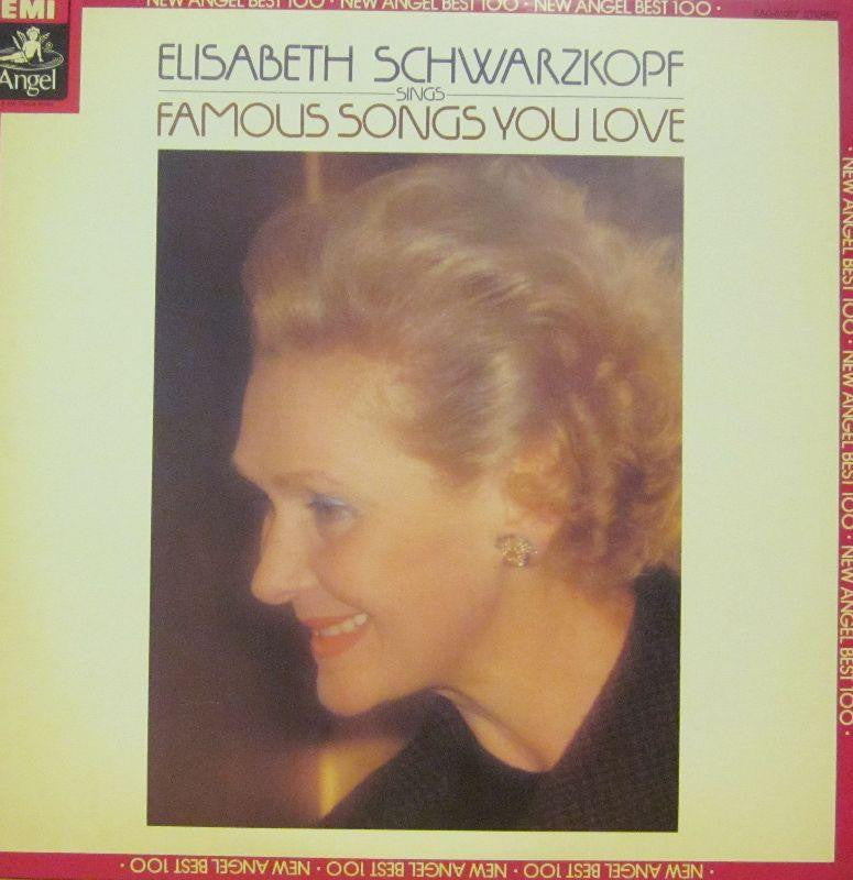 Elisabeth Schwarzkopf-Famous Songs You Love-EMI-Vinyl LP
