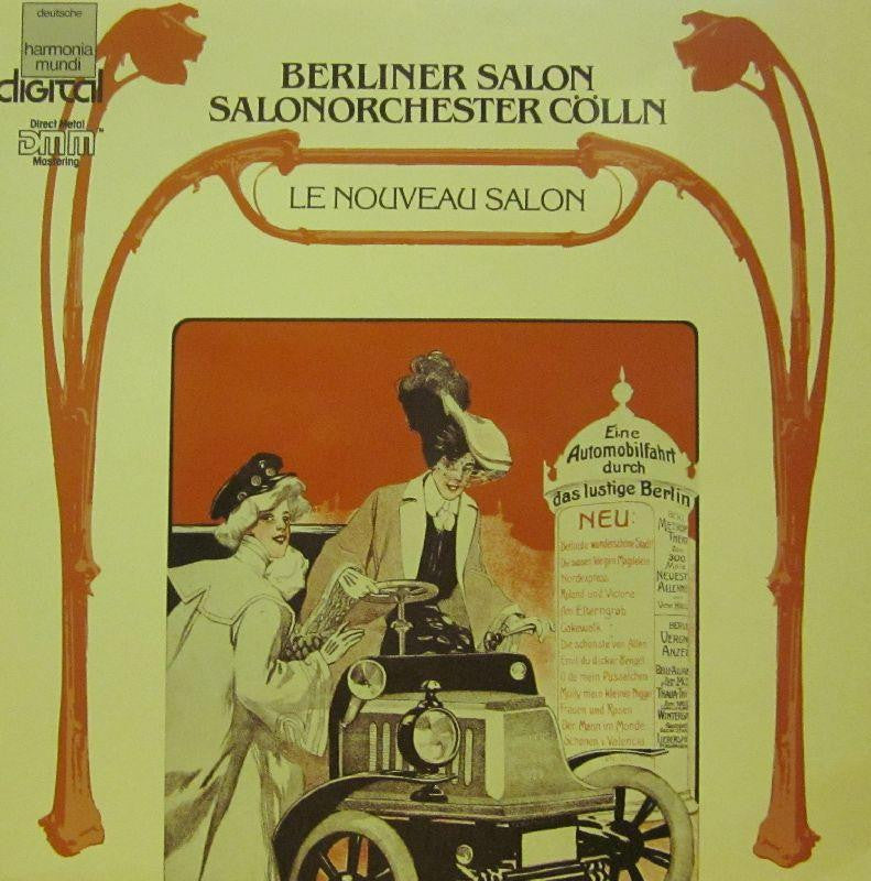 Berliner Salon-Salonorchester Colln-Harmondia Mundi-Vinyl LP