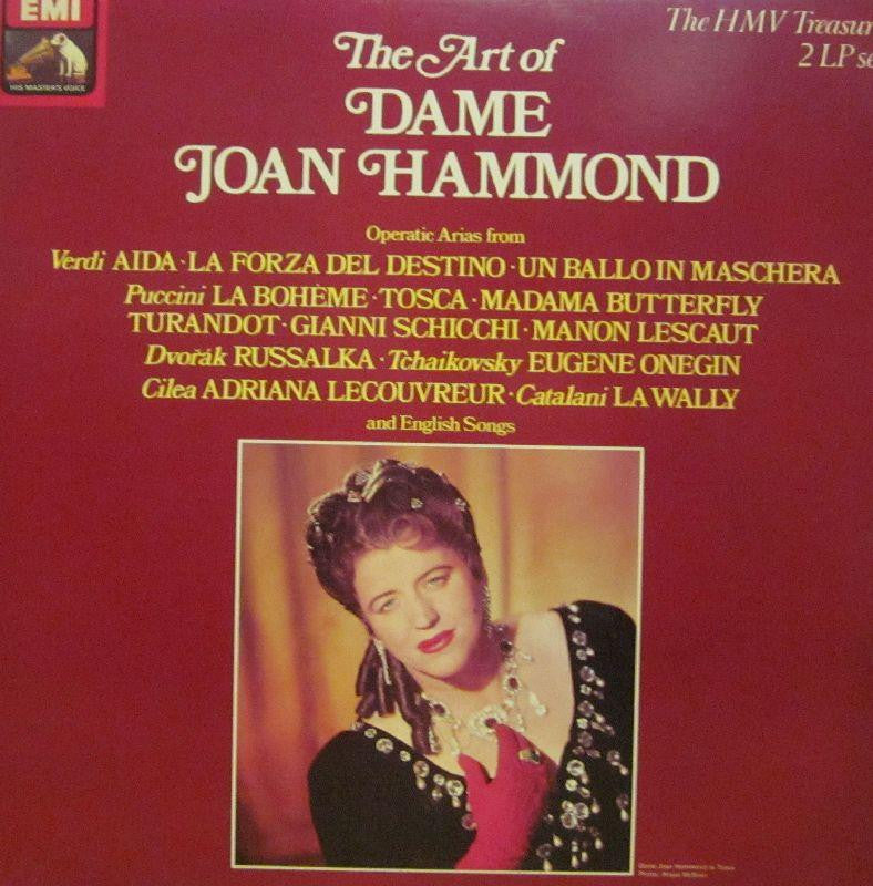 "Joan Hammond-The Art Of-HMV-2x12"" Vinyl LP Gatefold"