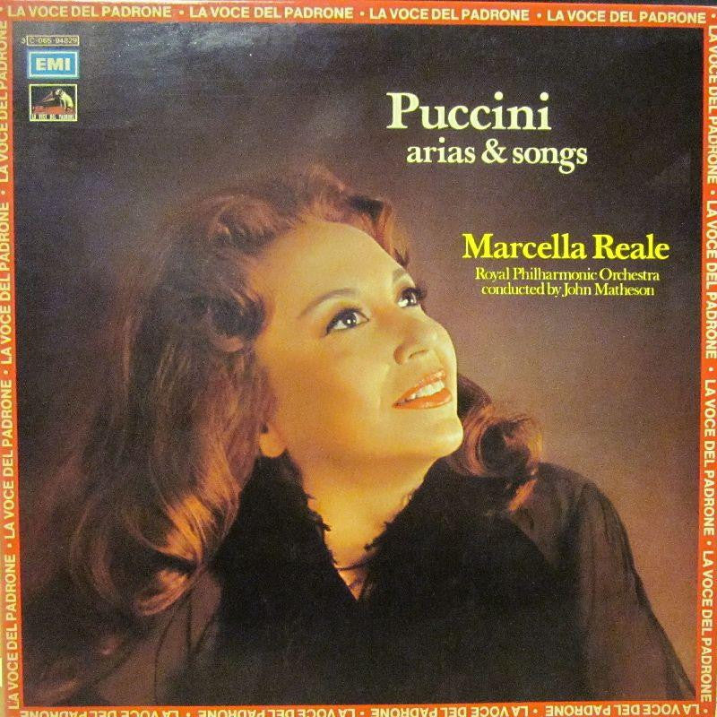 Puccini-Arias & Songs-HMV-Vinyl LP Gatefold