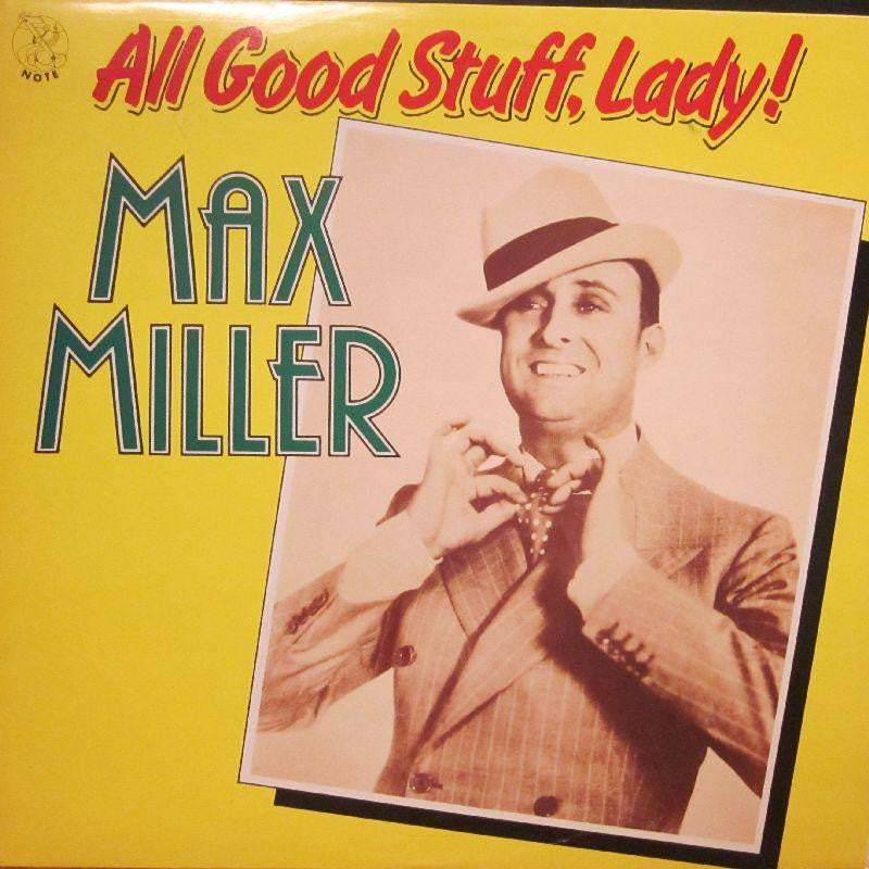 Max Miller-All Good Stuff, Lady-Note-Vinyl LP