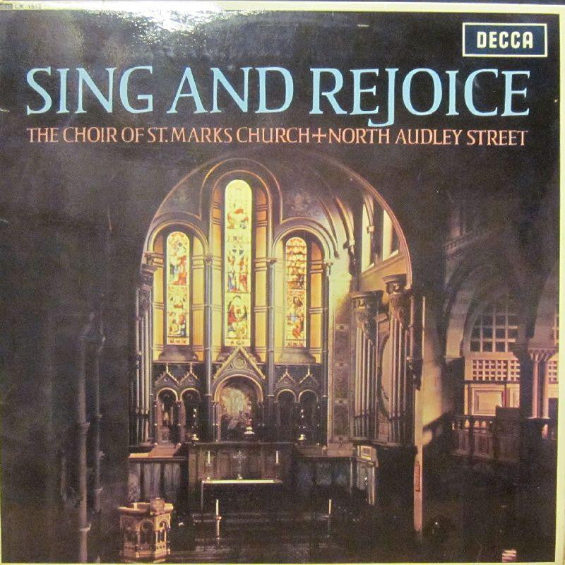 The Choir of St Marks Church-Sing & Rejoice-Decca-Vinyl LP