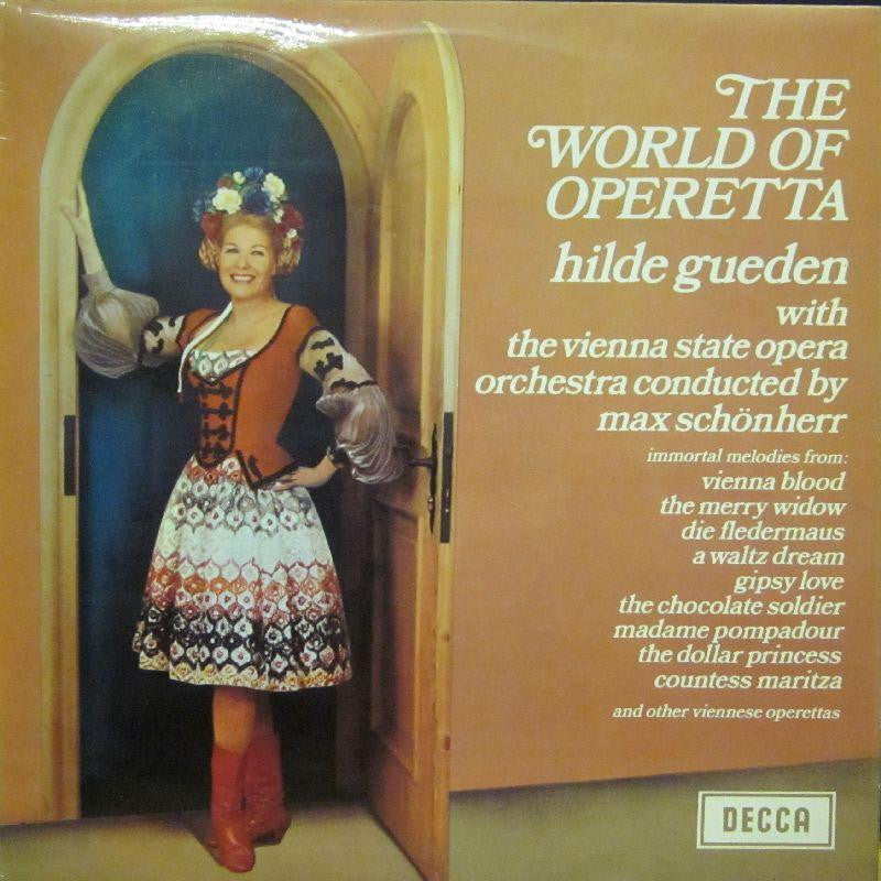 The Vienna State Opera-The World Of Operetta-Decca-Vinyl LP