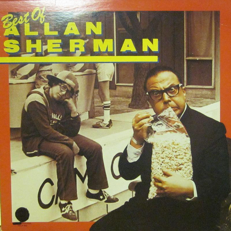 Allan Sherman-Best Of-Rounder-Vinyl LP