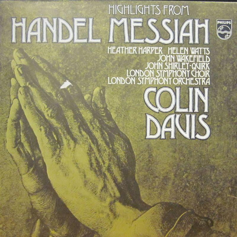 Handel-Messiah-Philips-Vinyl LP
