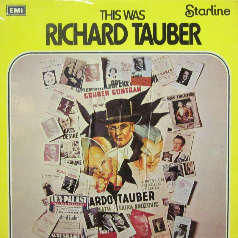 Richard Tauber-This Was-Starline-Vinyl LP