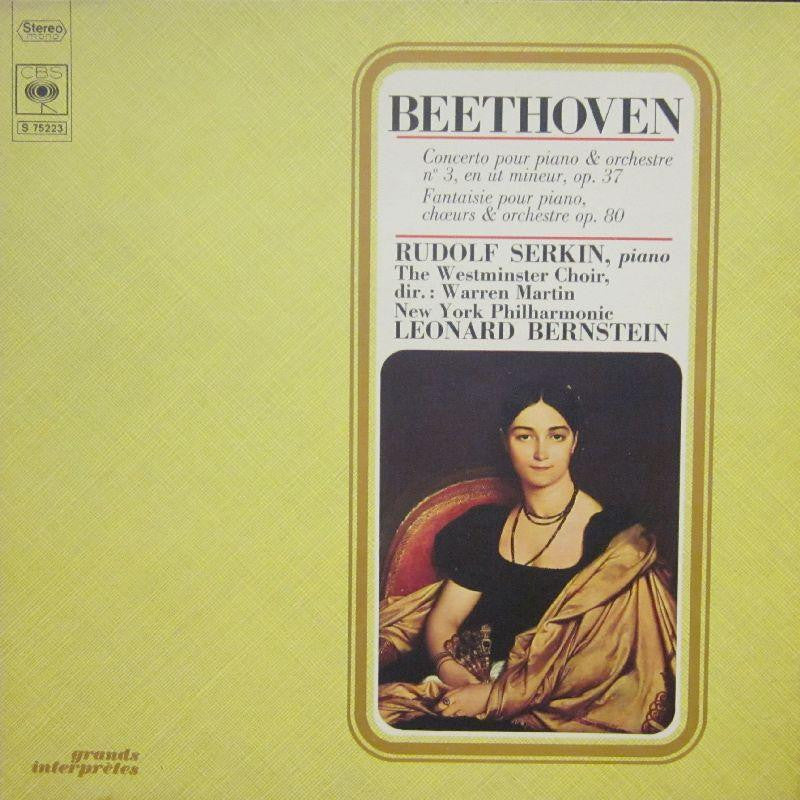 Beethoven-Concerto Pour Piano & Orchestra-CBS-Vinyl LP Gatefold
