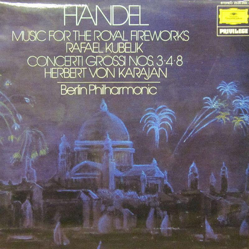 Handel-Music For Royal Firworks-Deutsche Grammophon-Vinyl LP