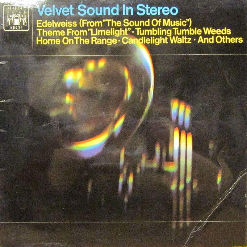 Ed Wernov And His Orchestra-Velvet Sound In Stereo-Marble Arch-Vinyl LP