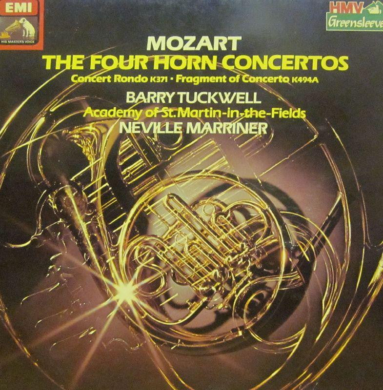 Mozart-The Four Horn Concertos-HMV-Vinyl LP