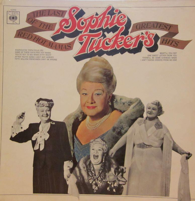 Sophie Tucker-The Last Of The Red Mamas-CBS-Vinyl LP