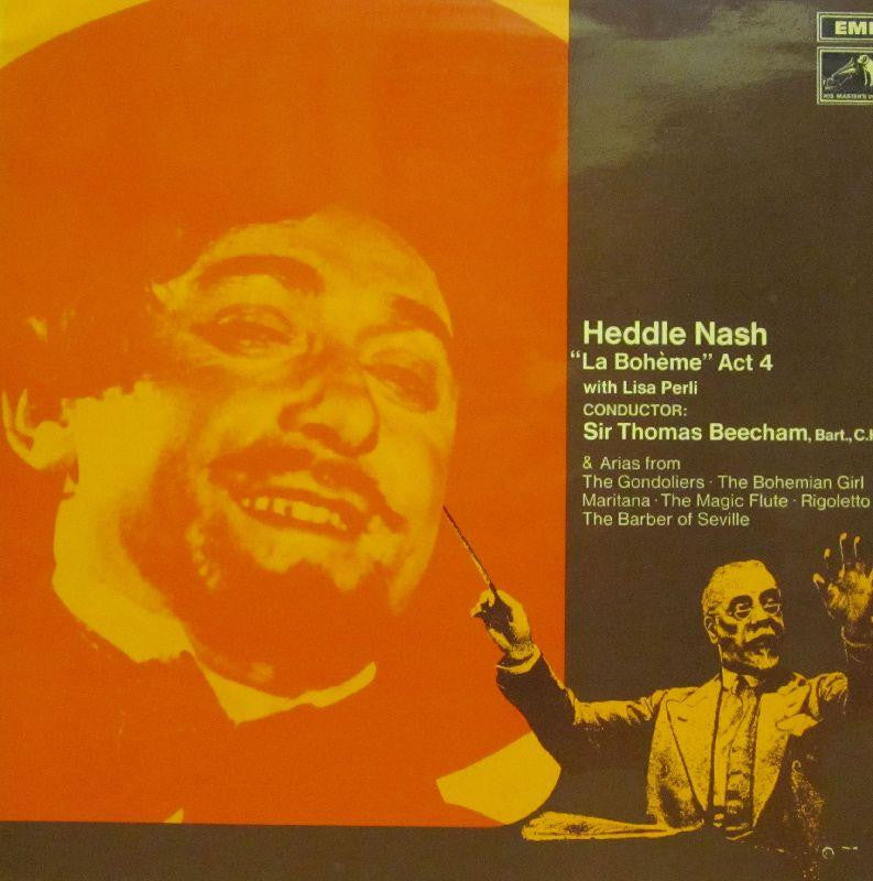 Heddle Nash-La Boheme Act 4-HMV-Vinyl LP