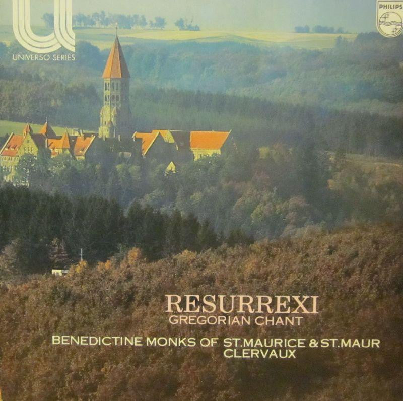 Benedictine Monks of The Abbey-Resurrexi-Philips-Vinyl LP