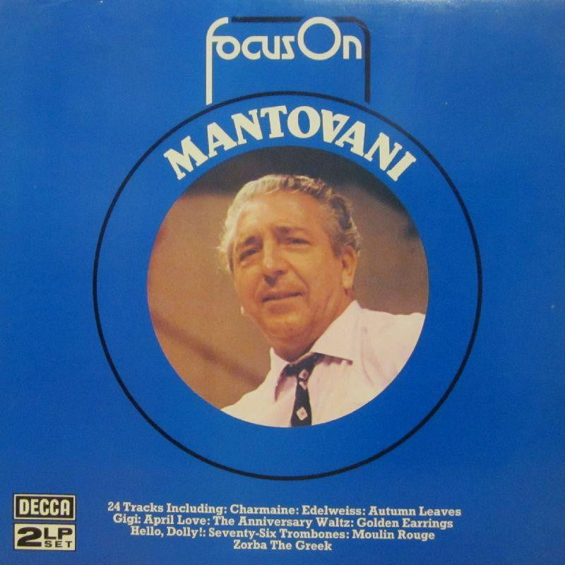 "Mantovani-Focus On-Decca-2x12"" Vinyl LP Gatefold"