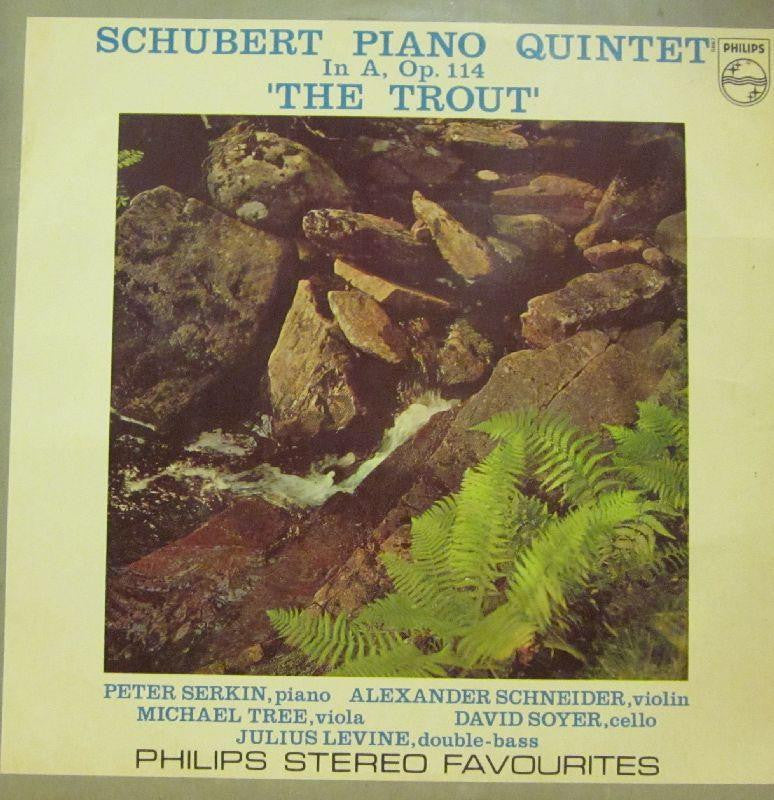 Schubert-Piano Quintet-Philips-Vinyl LP