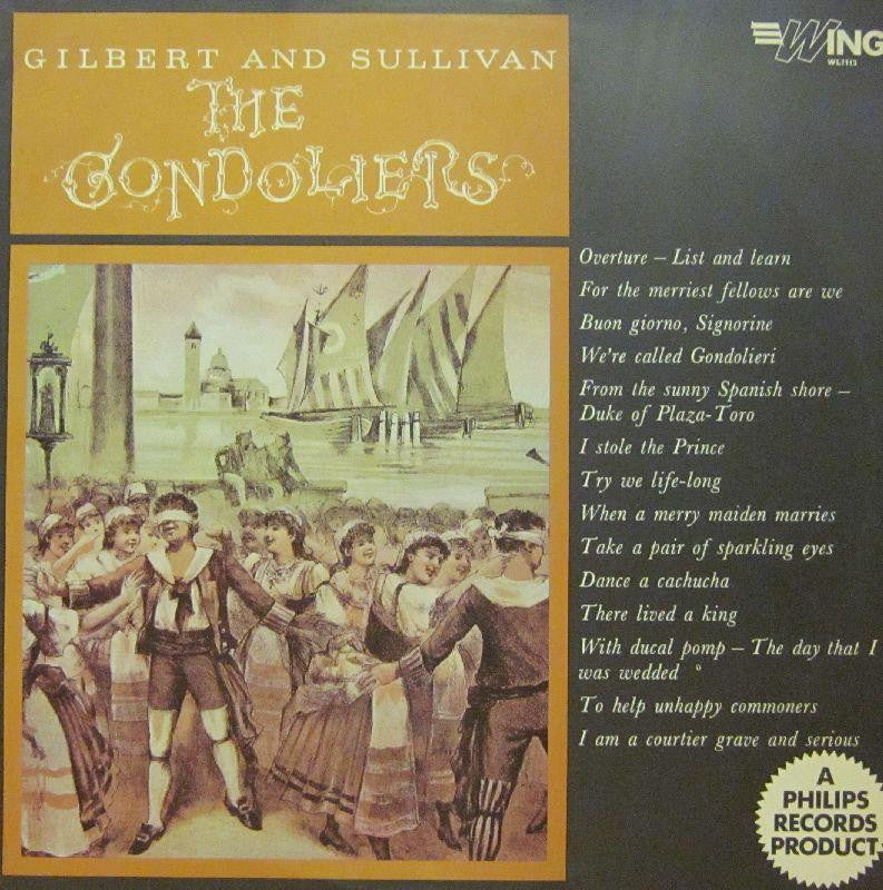 Gilbert And Sullivan-The Gondoliers-Wing-Vinyl LP