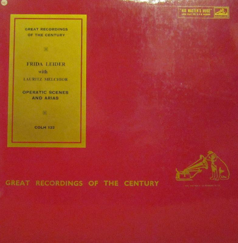 Frida Leider-Operatic Scenes And Arias-HMV-Vinyl LP
