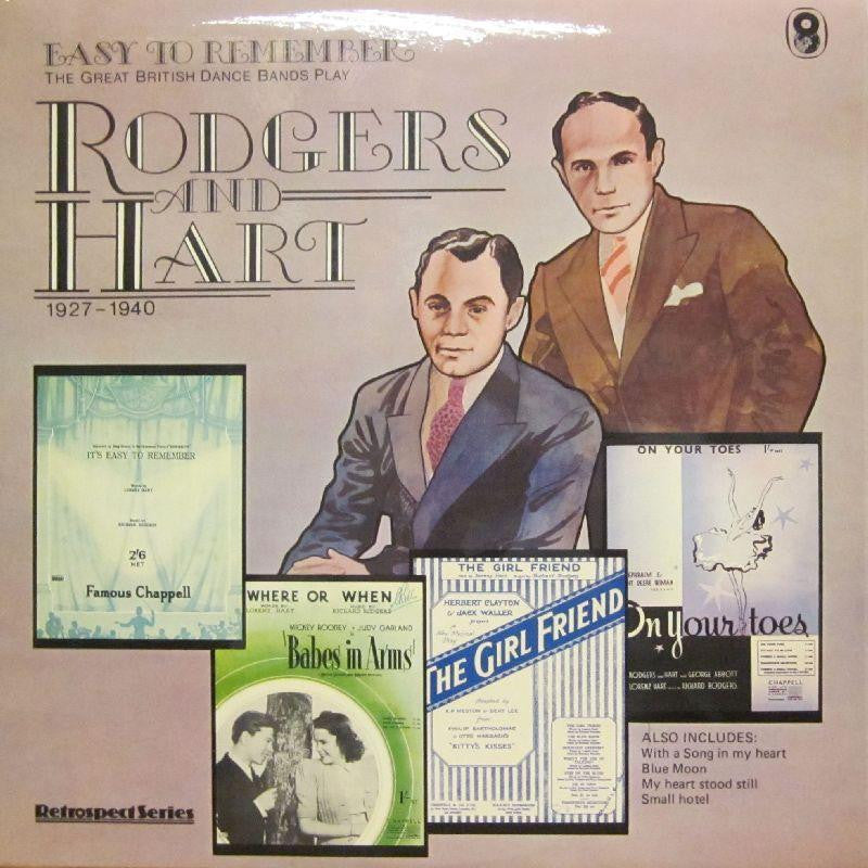Rodgers & Hart-Easy To Remeber-World Record Club-Vinyl LP