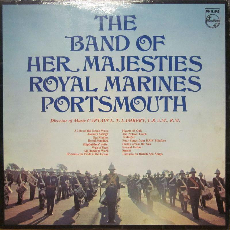 The Band of H.M Marines-The Band Of H.M Marines-Philips-Vinyl LP Gatefold