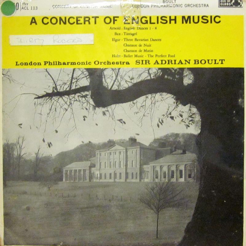 The London Philharmonic Orchestra-A Concert Of English Music-Decca-Vinyl LP