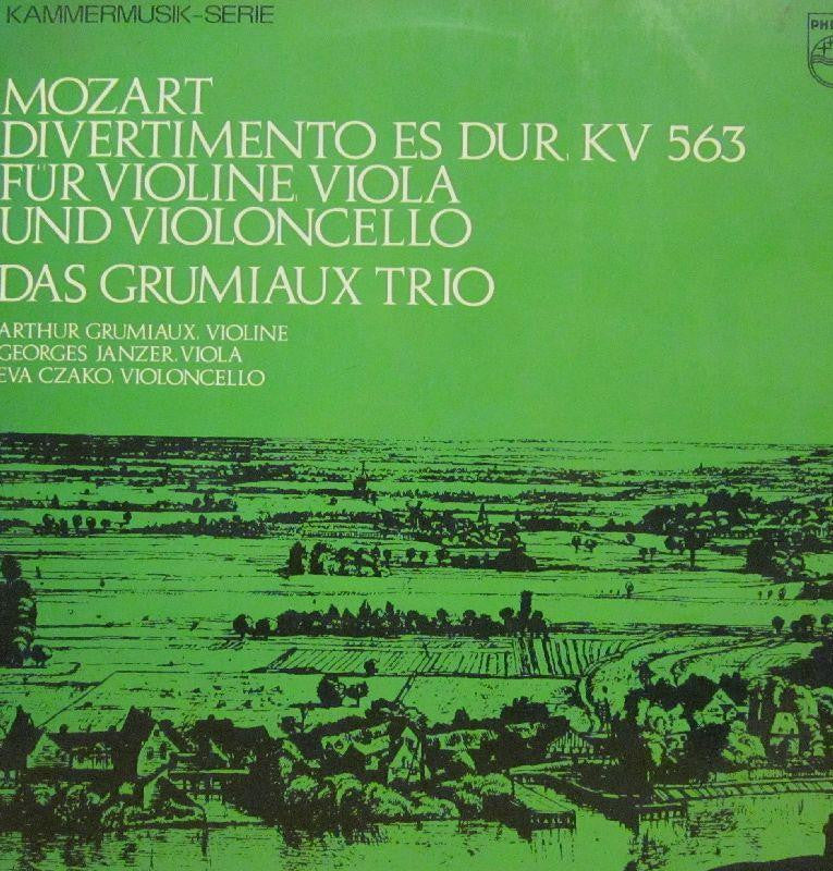 Mozart-Divertimento Es Dur-Philips-Vinyl LP