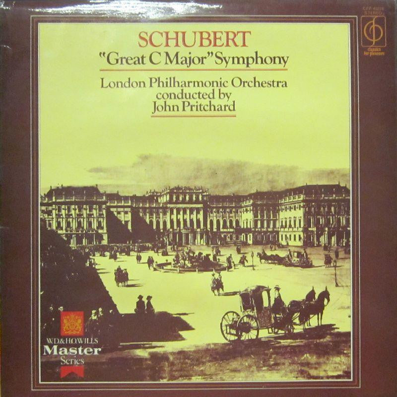 Schubert-Great C Major Symphony-CFP-Vinyl LP