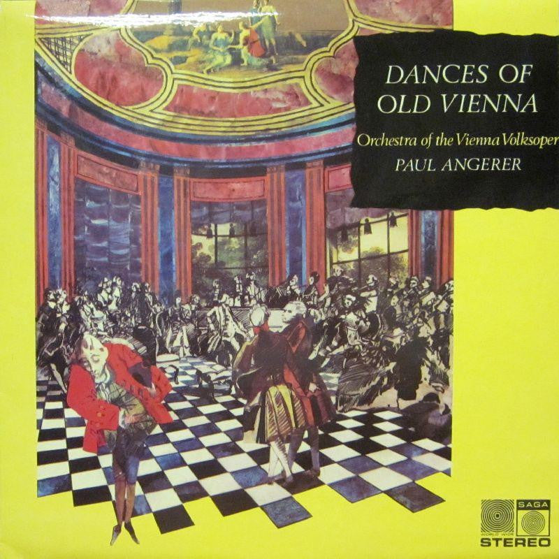 Strauss-Dances Of Old Vienna-Saga-Vinyl LP