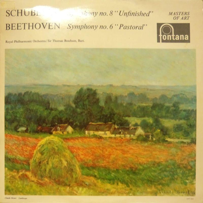 Schubert-Symphony No.8 Unfinished-Fontana-Vinyl LP
