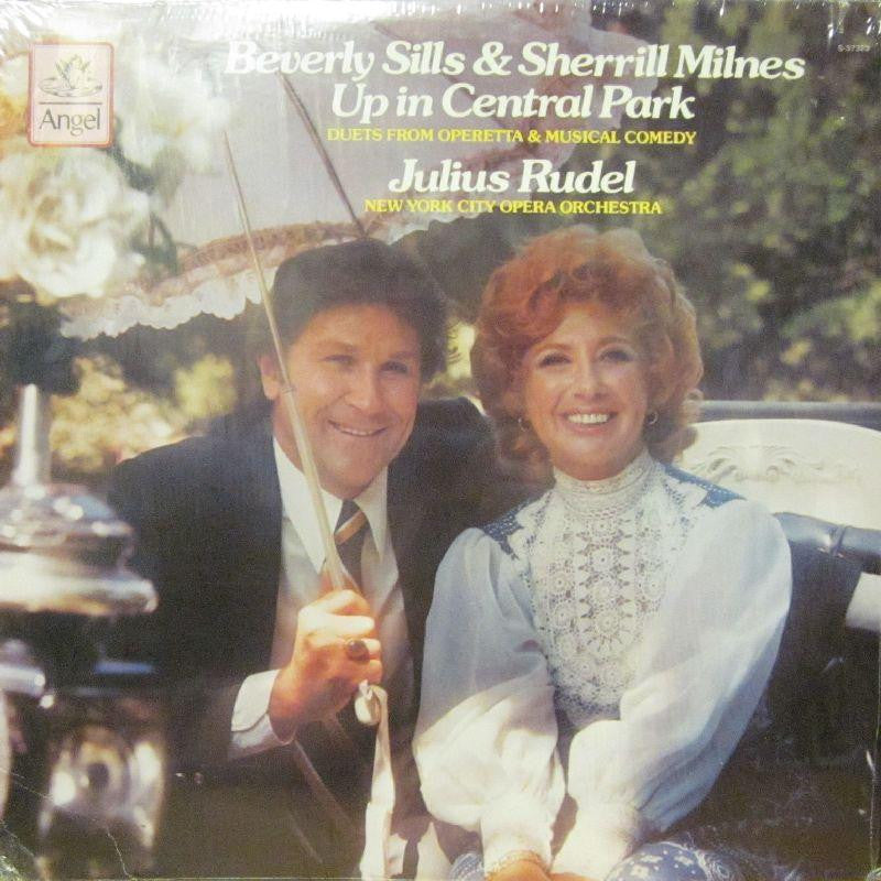 Beverly Sills & Sherrill Milnes-Up In Central Park-Angel-Vinyl LP