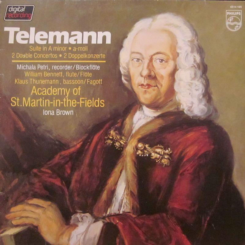 Telemann-Suite & 2 Double Concertos-Philips-Vinyl LP