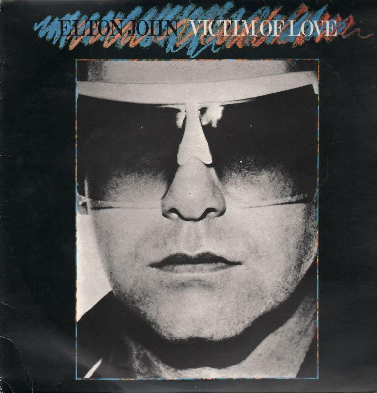 Elton John-Victim Of Love-Rocket Record Company-Vinyl LP