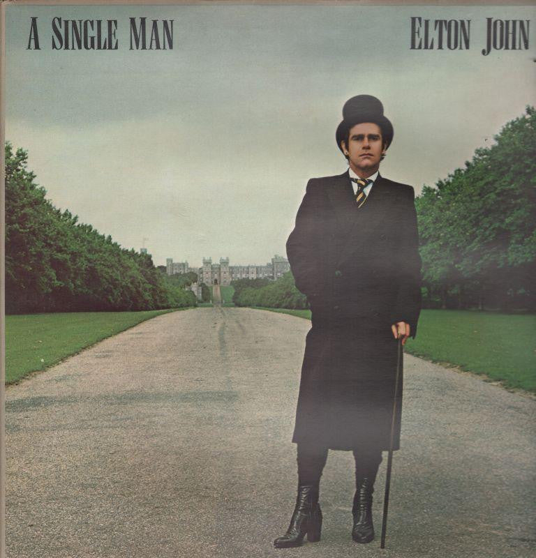 Elton John-A Single Man-Rocket Record Company-Vinyl LP Gatefold